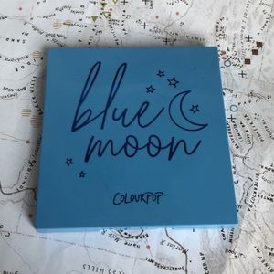 Colourpop once in a blue moon palette